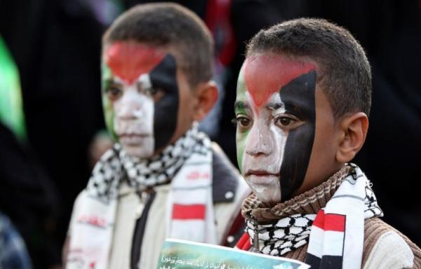 اليمن.. عقود من المواقف الثابتة الداعمة للقضية الفلسطينية (تقرير)