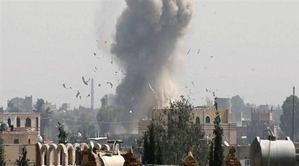انفجار في مأرب بعد قصف حوثي سابق