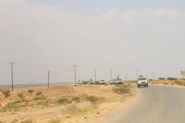 مليشيا الإمارات على تخوم وادي عمد بحضرموت
