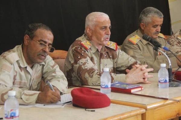 جاءت التصريحات بعد استحداث قوات تدعمها الإمارات معسكراً في حدود وادي حضرموت