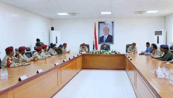 اجتماع اللجنة الأمنية بشبوة