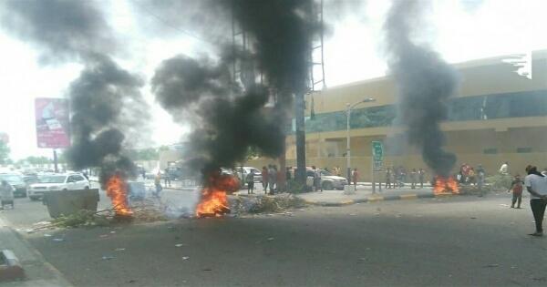 احتجاجات سابقة في عدن