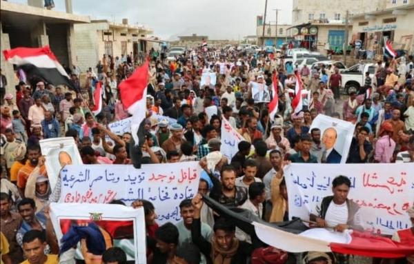 تشارك معظم مديريات الارخبيل في الاحتجاجات رغم حملة الميليشيات القمعية