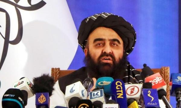 وزير خارجية طالبان أمير خان متقي