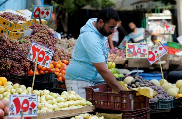 ارتفاع التضخم في مصر