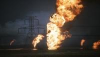 شبوة.. انفجار أنبوب النفط الواقع بمنطقة الصعيد