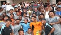 فريق الشرطة الجوية بسيئون يحرز بطولة كأس الاستقلال لكرة القدم