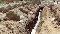 منظمة حقوقية تدعو إلى حماية دولية للمدنيين بعد قرار الحوثي دفن عشرات الجثث