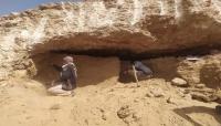 العثور على مقتنيات فخارية وحجرية عمرها 2500 عام في مقبرة أثرية بحضرموت