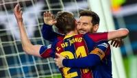 برشلونة يُسقط اشبيلية ويحافظ على آماله في الفوز باللقب