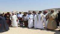 المهرة.. السطان آل عفرار والشيخ الحريزي يفتتحان مشروع بئر الرضة  في منطقة شوميت