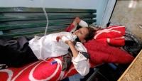 إصابة سبعة أطفال بقصف حوثي في تعز