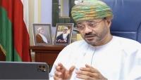 وزير الخارجية العماني يبحث مع ناطق الحوثيين جهود وقف الحرب باليمن