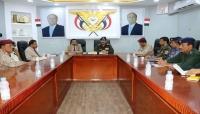 وزير الداخلية ومحافظ شبوة يبحثان الأوضاع الأمنية بالمحافظة