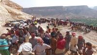 حضرموت..مواطنون يفتحون طريقاً أغلقته قوات مدعومة إماراتياً منذ 4 سنوات